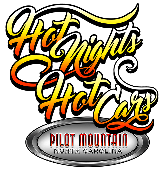 Hot Nights Hot Cars Cruise-In Logo