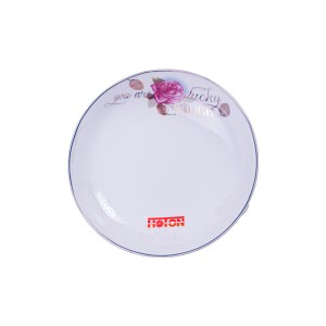 TY – Floral Round Rice Plate (9 inch)