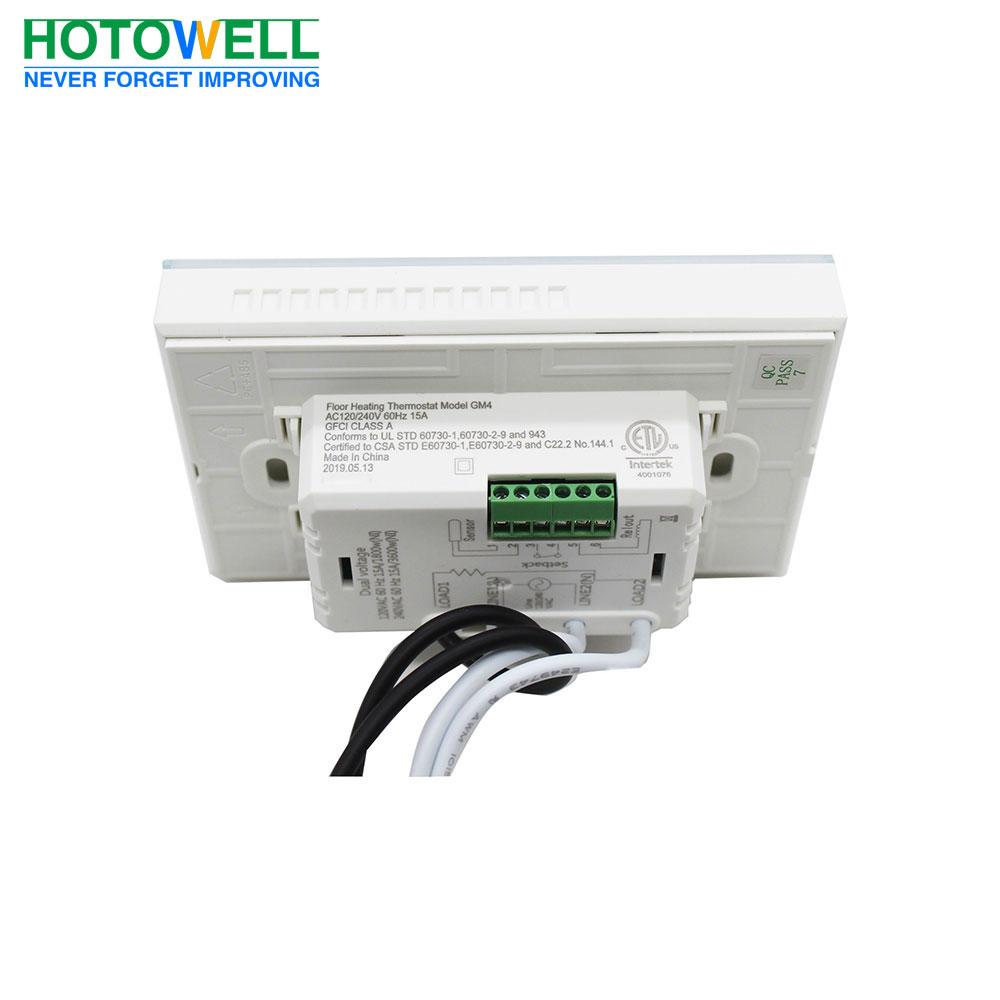 medium resolution of gfci 240v thermostat wiring diagram