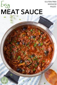 pin for easy meat sauce