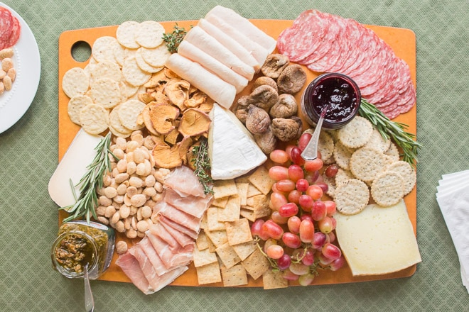 Awesome Gluten Free Cheese Board