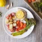 Lemon Thyme Chicken Sheet Pan Dinner