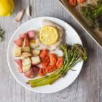 Lemon Thyme Chicken Sheet Pan Dinner