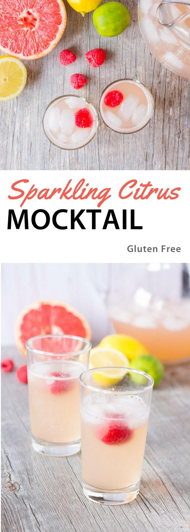 Sparkling Citrus Mocktail