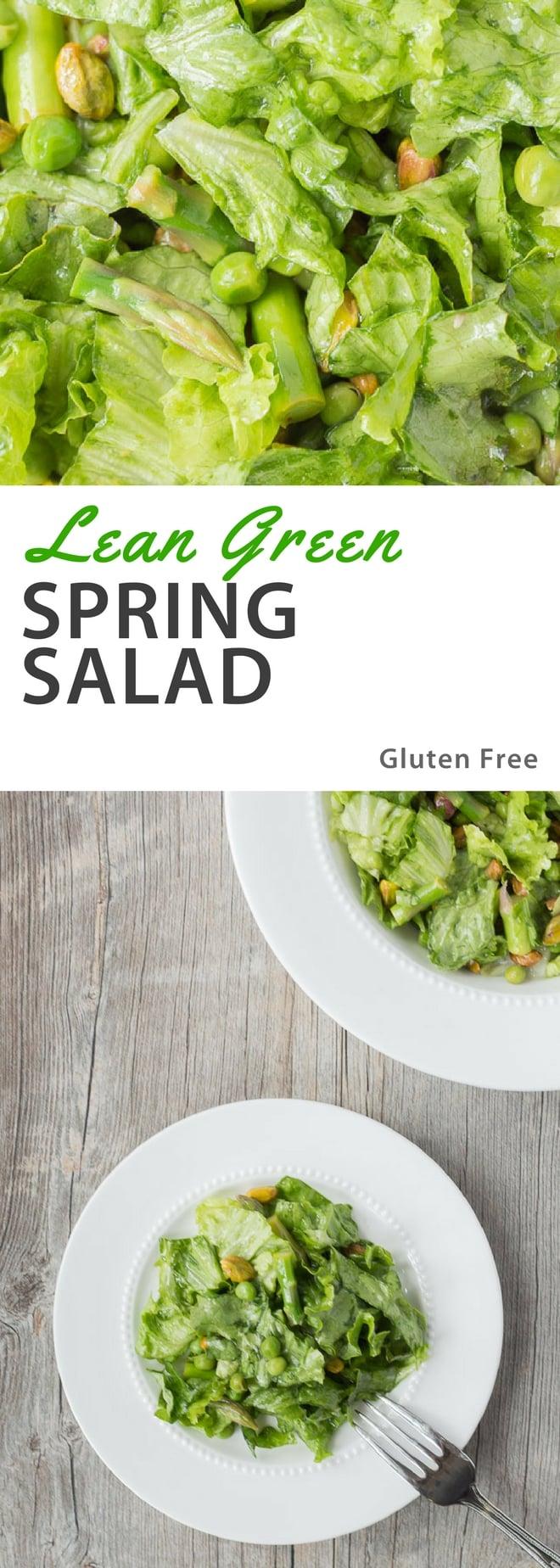 Lean Green Spring Salad