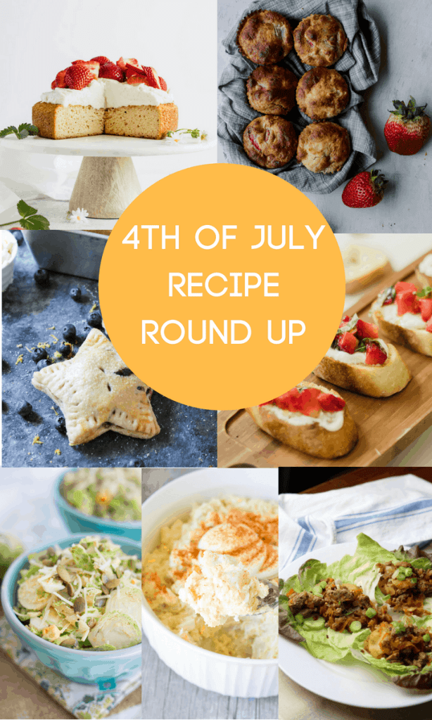 Bring Food Fourth, 4th of July Recipe Roundup. Seven great dishes to take your holiday BBQ up a notch. #recipes #glutenfree #bbq #cookout #4thofjuly #fourthofjuly