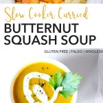 pin for slow cooker butternut squash soup