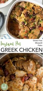 pin for instant pot greek chicken thighs