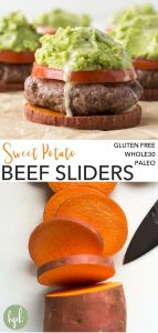 pin for paleo beef sliders