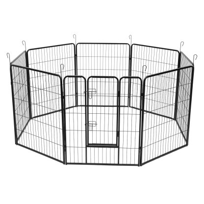 8 Panel Pet Iron Wire for indoor and outdoor