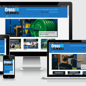 Crossfit Burleigh - a Burleigh Heads website development