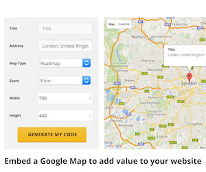 ✅ Benefits of embedding a Google Map onto your website ... on map google map, copy google map, address google map, export google map, twitter google map, insert google map, small google map, share google map,