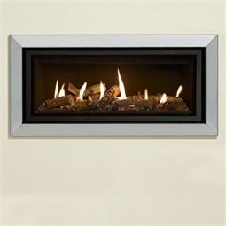 Gazco Studio Bauhaus Mk2 Wall Mounted Gas Fire (Balanced