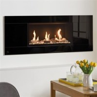 Gazco Studio Glass Mk2 Wall Mounted Gas Fire (Balanced