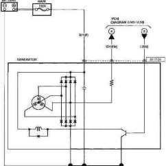 Wiring Diagram For Alternator To Battery Cars 2006 Mazda 3 Fusion