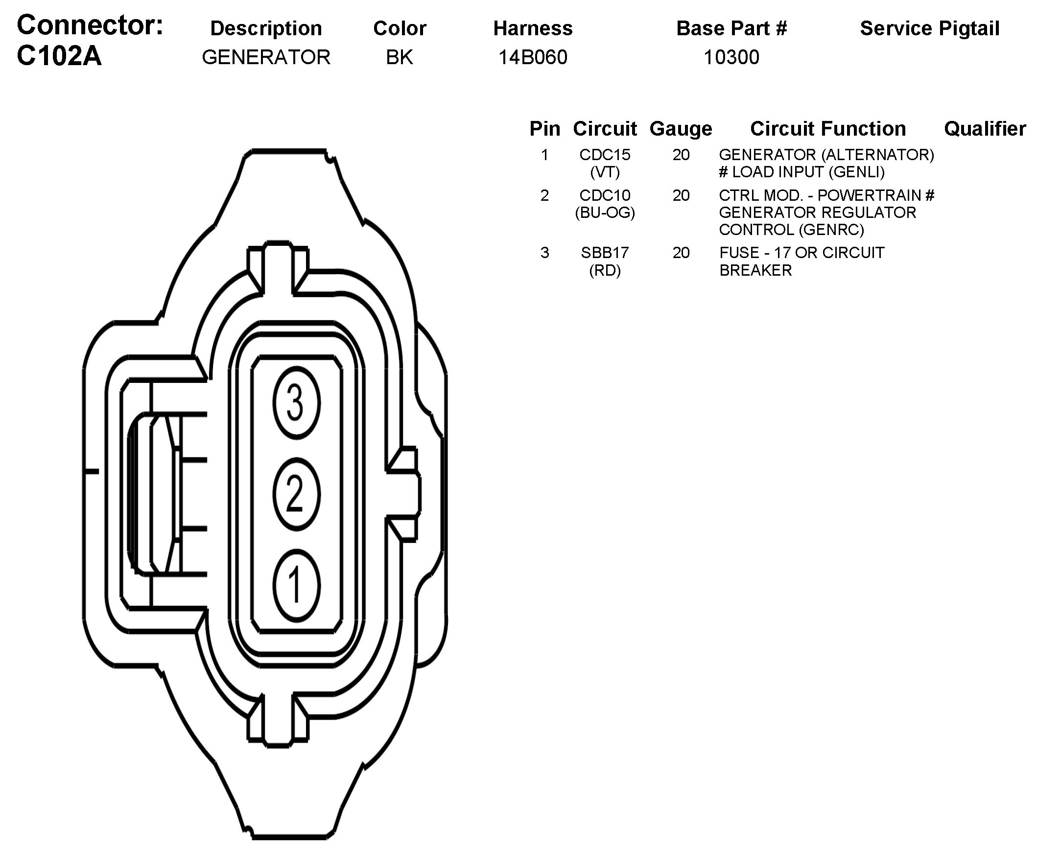 alternator battery schematic