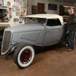 Making A Roadster Top For 1933 34 Fords