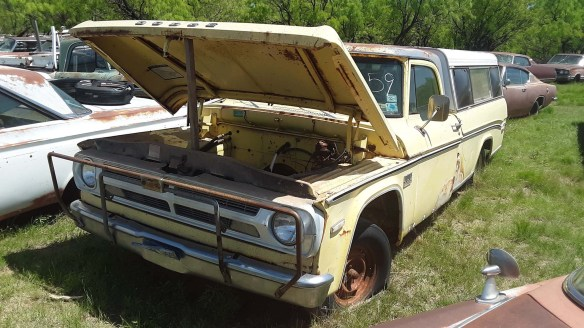 034 1970 dodge d 100 pickup truck