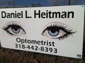 optomitrist signage