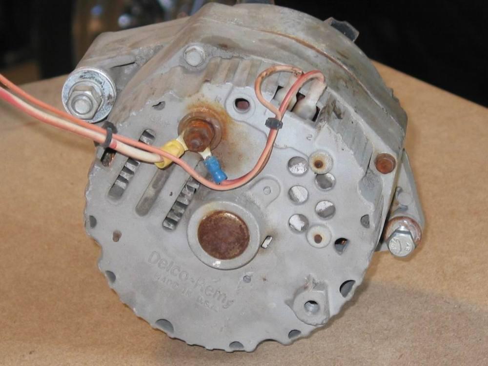 medium resolution of charging systems hotrod hotline gm alternator bracket gm alternator field wire