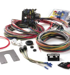 painless performance harness in 39 ford porsche fuse box street rod fuse box under hood [ 1500 x 895 Pixel ]