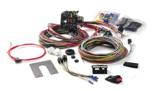 small resolution of painless performance harness in 39 ford porsche fuse box street rod fuse box under hood