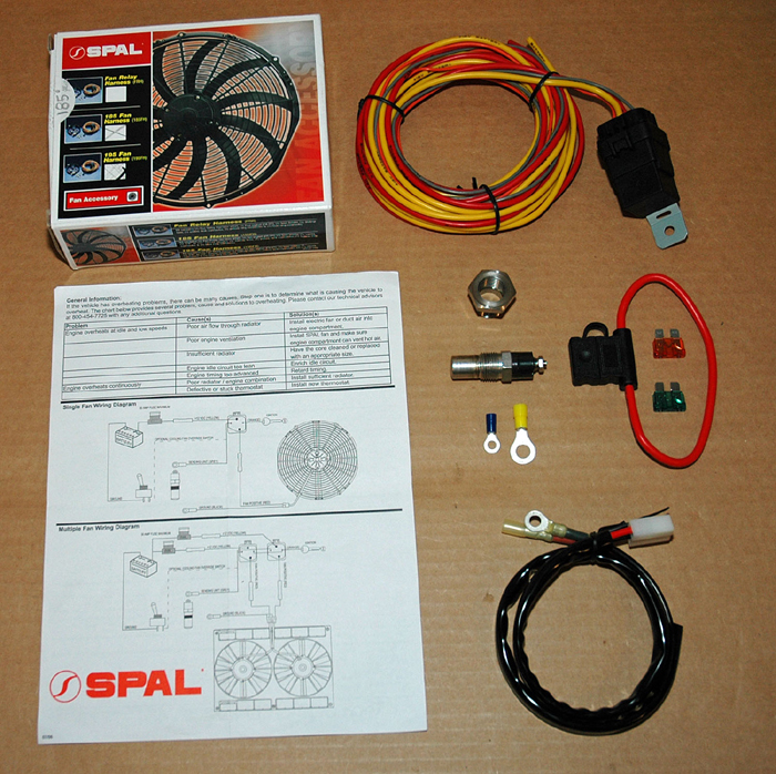 spal electric fan wiring diagram utp control