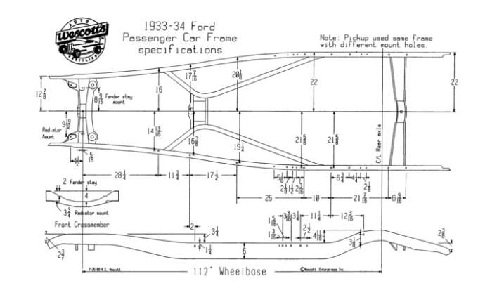 1932 Ford Frame Specs | Frameviewjdi.org