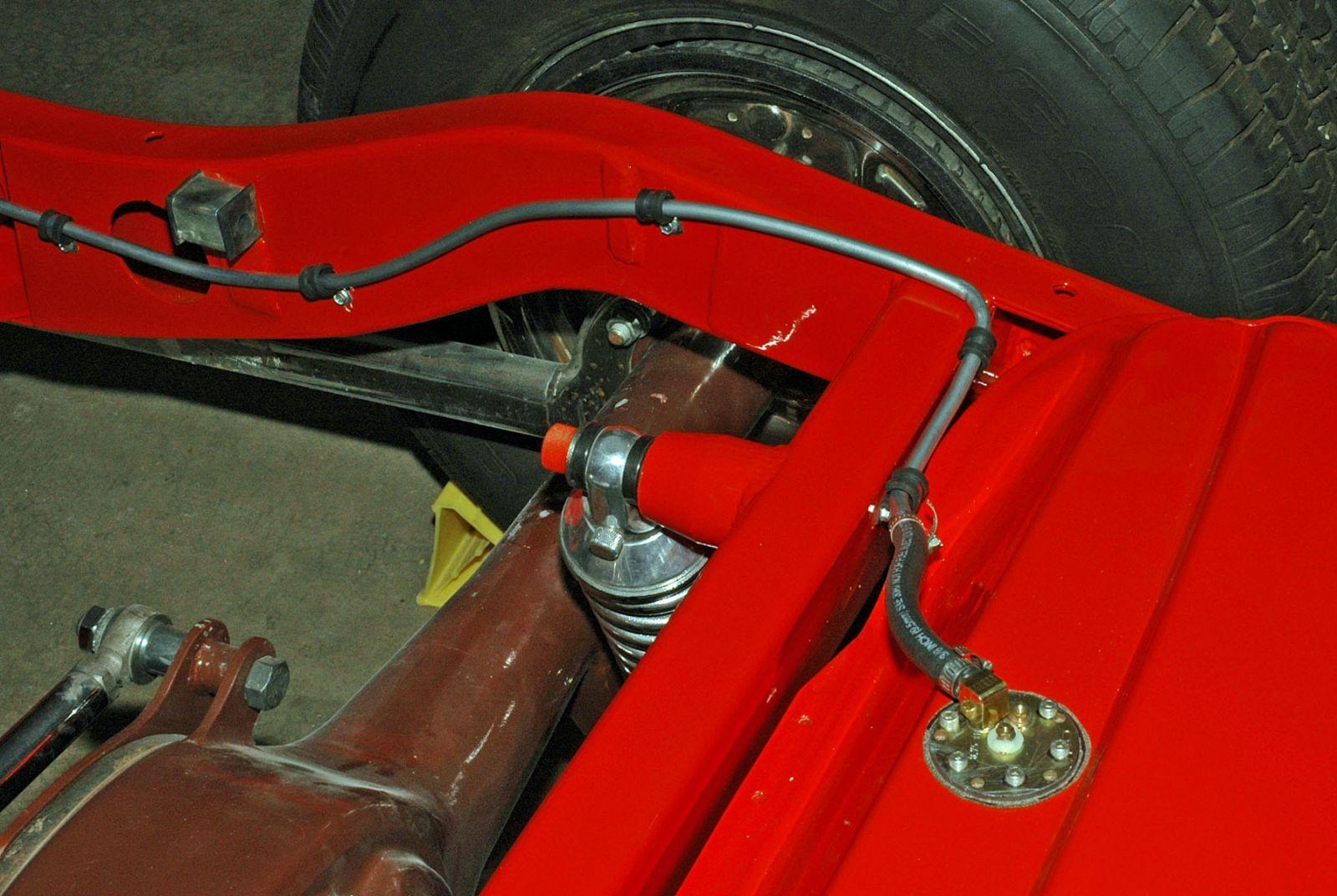 1966 Bug Wiring Diagram Schematic Installing A Fuel Gauge And Sender Hotrod Hotline