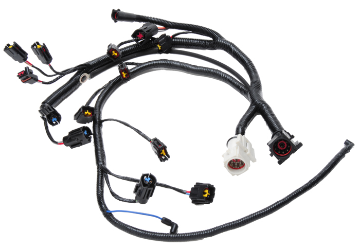 fuel injection connection wiring harness