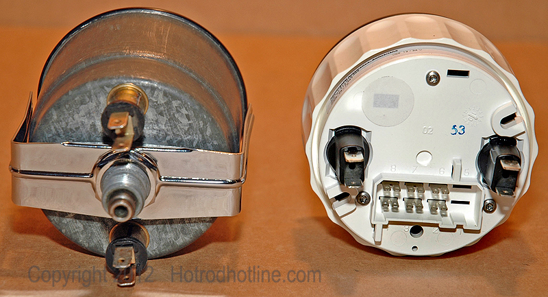 4 Wire Tachometer Wiring Diagram Calibrating A Speedometer Hotrod Hotline