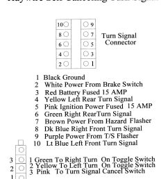 instructions included with the system show where each wire is to connect to in the large connector and the small toggle switch connector  [ 979 x 1200 Pixel ]