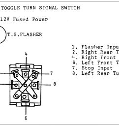 turn signals for early hot rods hotrod hotline wiring turn signals to a toggle switch [ 1479 x 1200 Pixel ]