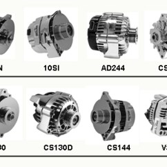 Cs130 Alternator Wiring Diagram Carrier Heat Pump Thermostat Tuff Stuff Gm Alternators | Hotrod Hotline