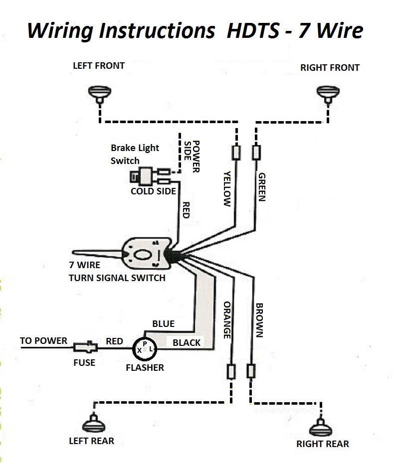 Hot Rod Wiring Diagram Light And Signals Wire Diagram
