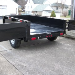 Dump Trailers For Sale 12v Starter Solenoid Wiring Diagram Griffin Hot Rod Trailer Sales A Great Little Residential Use In Driveways And Landscaping Is The 6x10 Deckover Model It Has 7000gvw With Dual Axle Brakes