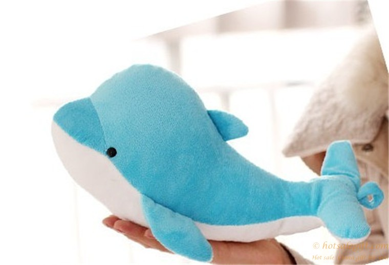 Cute dolphin plush toy doll pillow for children  Hot Sale
