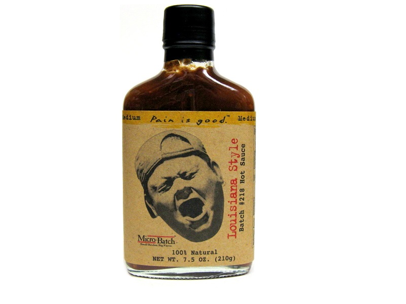 Image result for images of Pain is Good Batch #218 Louisiana Style Hot Sauce