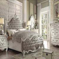 Formal Vintage Gray King Bedroom Set Acme | Hot Sectionals