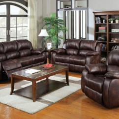 Motion Sofa Set Apartment Size Sofas Calgary 3pc Brown Acme Recliner 50510 Hot