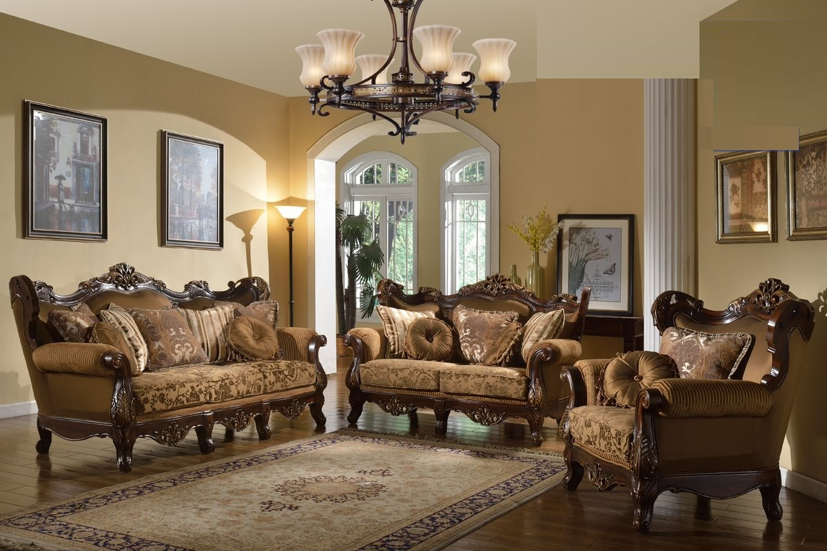 traditional sofa sets living room original leather formal set brown couch hot sectionals d089 1