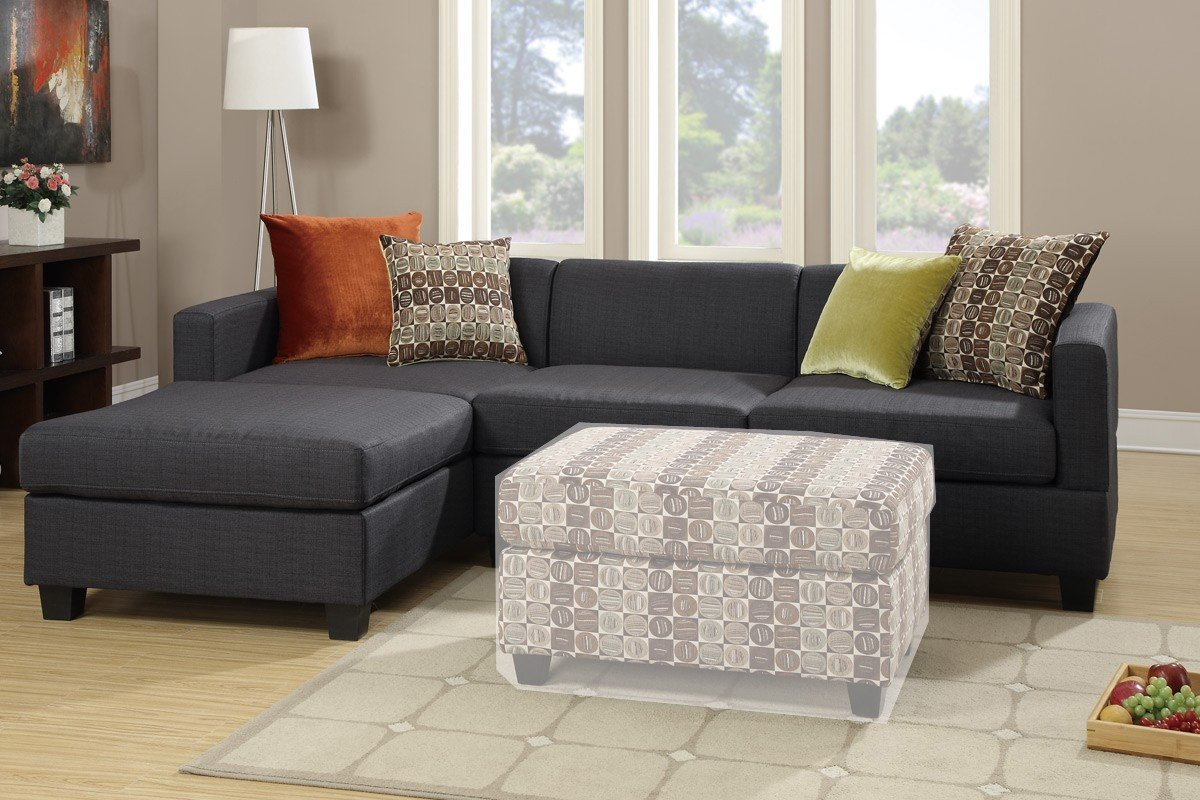 bobkona sofa set leather daybed reversible sectional 2pc