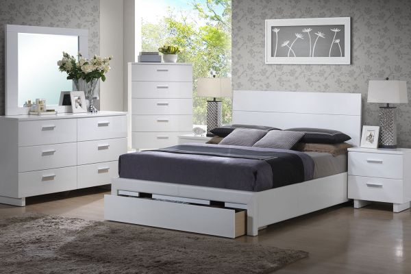 poundex bedroom furniture Poundex Furniture Queen Bedroom Set #F9284Q | Hot Sectionals