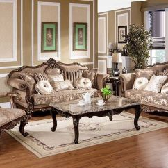 6 Piece Living Room Set Teal Accents Traditional Sofa Pc Mc1428 Hot Sectionals Antique