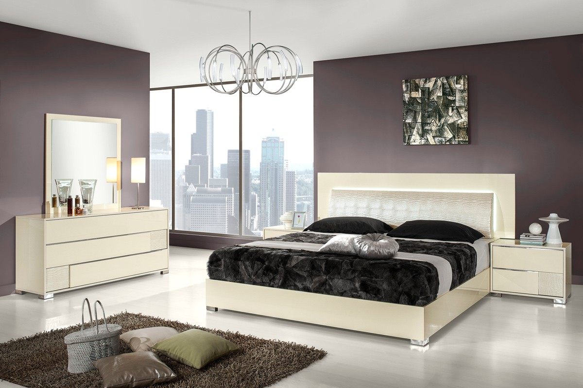 Vig Furniture Est King Bedroom Set Vgacgrace Hot Sectionals