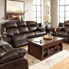 3pc Recliner Sofa Set Leather Bed Restoration Hardware Ashley Living Room Furniture Hot Sectionals