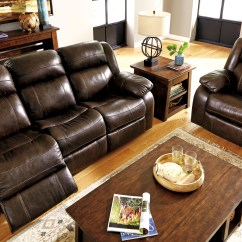3pc Recliner Sofa Set 2 Seater Leather Reclining Ashley Living Room Furniture Hot Sectionals