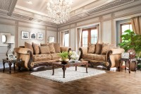2pc Sofa Set Living Room Furniture Formal Traditional Sofa ...