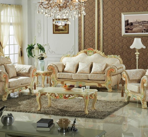 Traditional Living Room Furniture Sectionals: Traditional 3pc Sofa Set Living Room Furniture