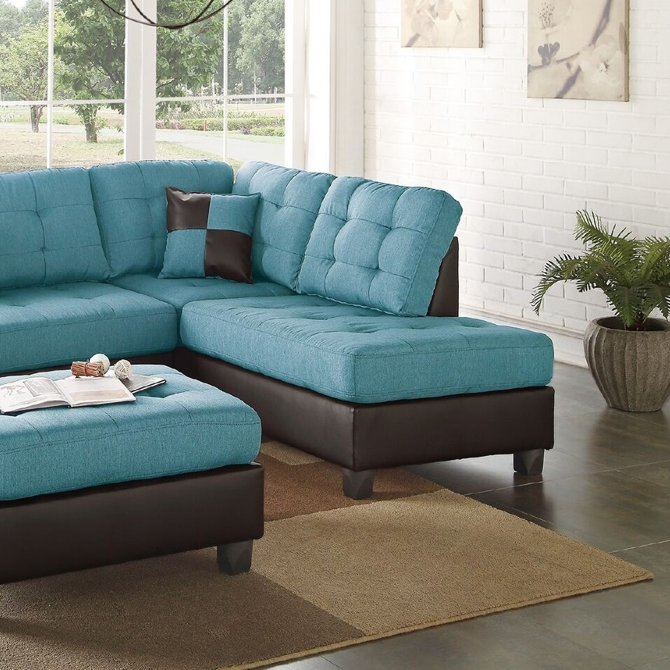 room and board sofa reviews boconcept carlton corner teal linen sectional chaise ottoman | hot sectionals